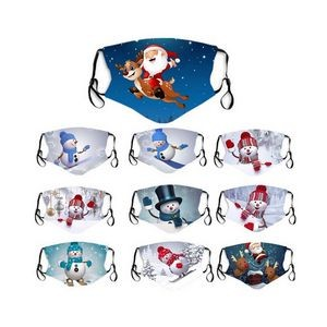 Custom Sublimation Printed Face Mask